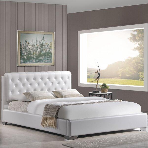 Crum Full Upholstered Platform Bed by Alcott Hill
