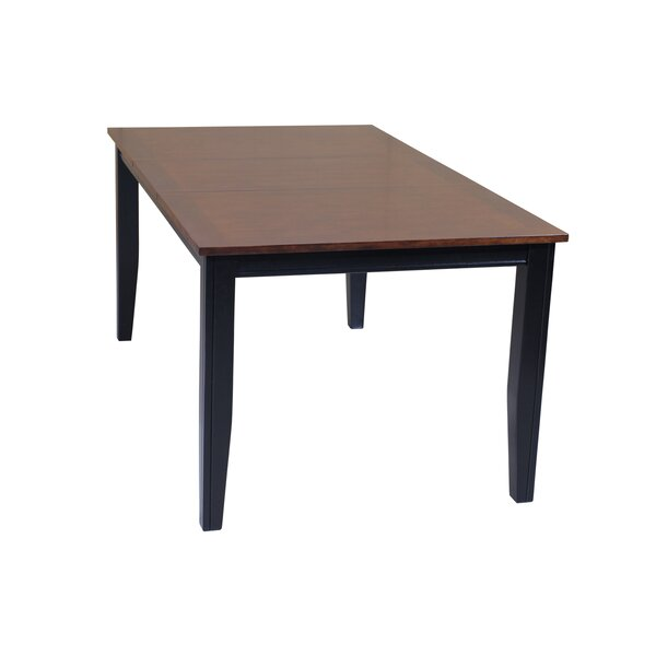 Aden Extendable Solid Wood Dining Table by TTP Furnish