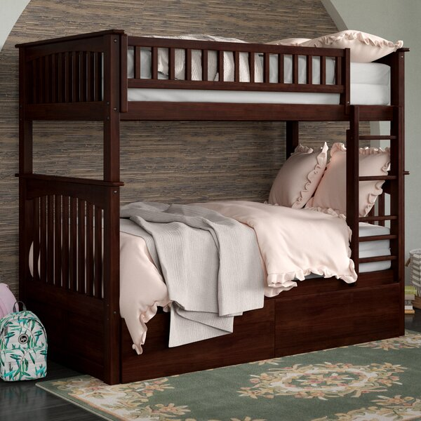Henry Twin over Twin Bunk Bed with Drawers by Viv + Rae