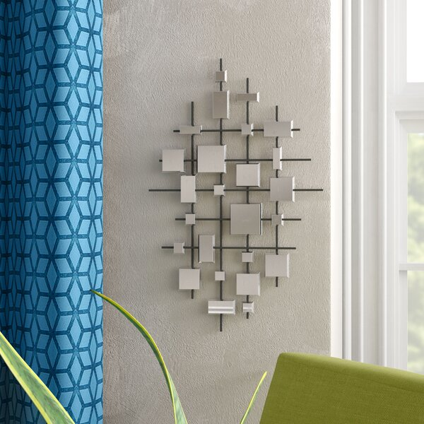 Dot Abstract Accent Mirror set by Zipcode Design