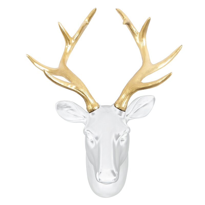 Deer Head Hanger Wall Decor by Alpen Home