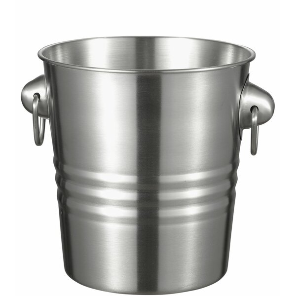 Baudet Stainless Steel Ice Bucket by Visol Products