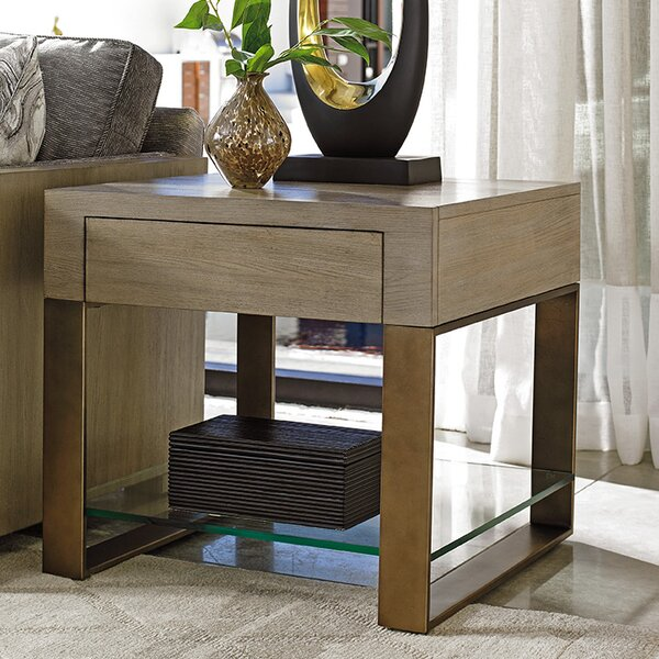Shadow Play Empire End Table with Storage by Lexington