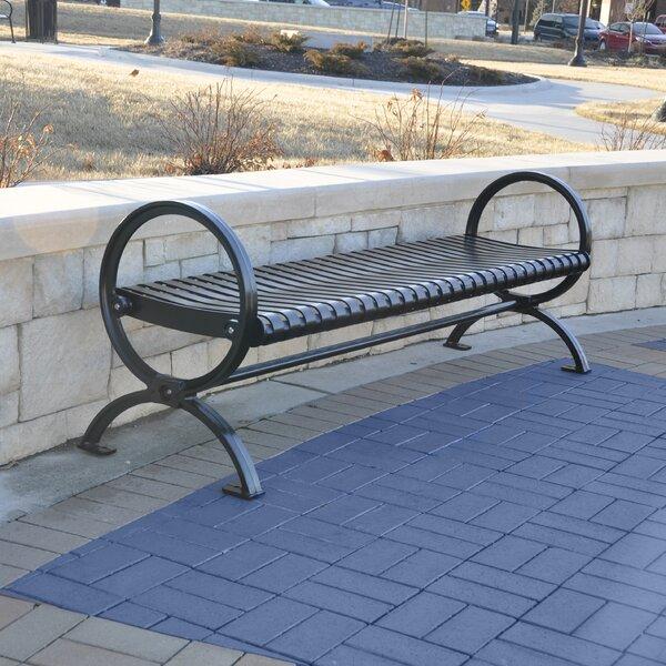 Wellington Steel Park Bench by Frog Furnishings