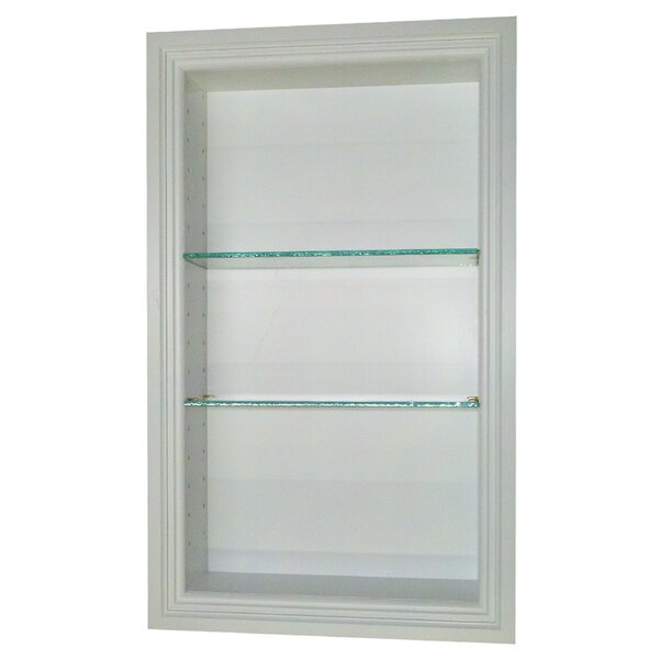 Bal Harbour 15.5 W x 19.5'' H Recessed Shelving by WG Wood Products