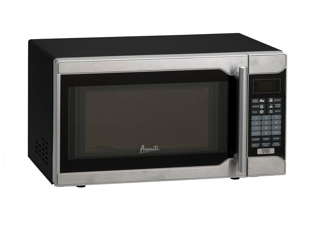 19 0 7 Cu Ft Countertop Microwave