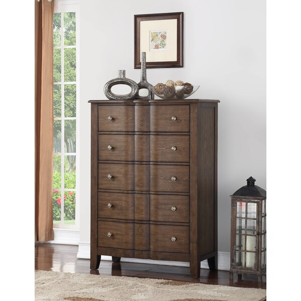 Rosemarie 5 Drawer Chest by Darby Home Co