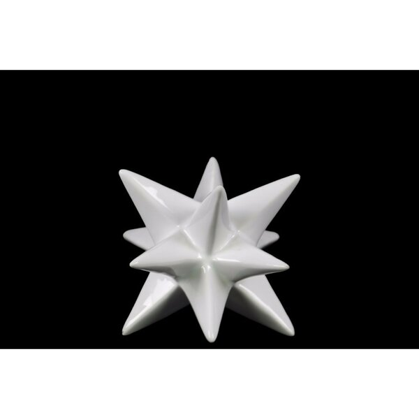 Hart Ceramic Stellated Icosahedron Sculpture by Wrought Studio