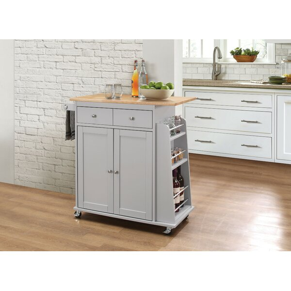 Farrar Kitchen Cart by Charlton Home