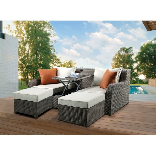 Chelan 3 Piece Seating Group with Cushion by Brayden Studio