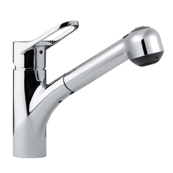 Ayr Pull Out Single Handle Kitchen Faucet by Houzer