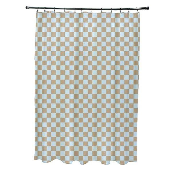 Delany Geometric Shower Curtain by Brayden Studio