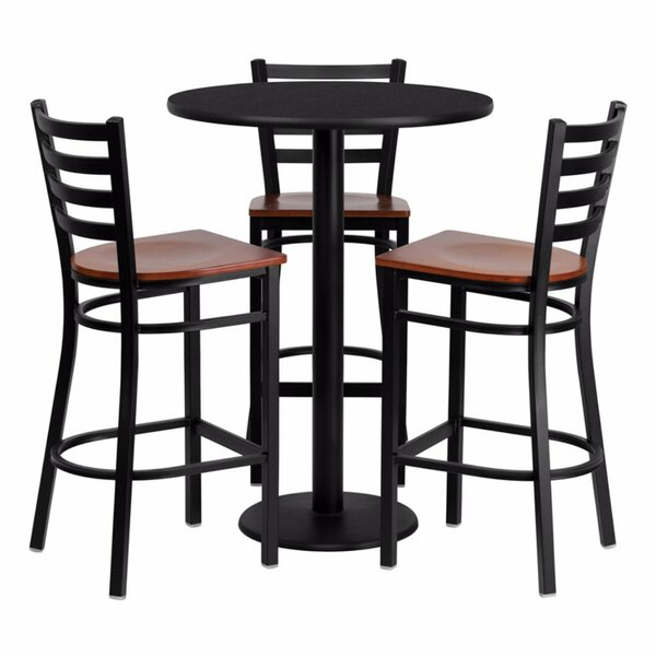 Philbrook 4 Piece Pub Table Set by Red Barrel Studio