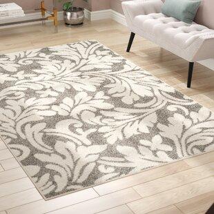 Inexpensive Maritza Dark Grey/Beige Area Rug By Willa Arlo Interiors