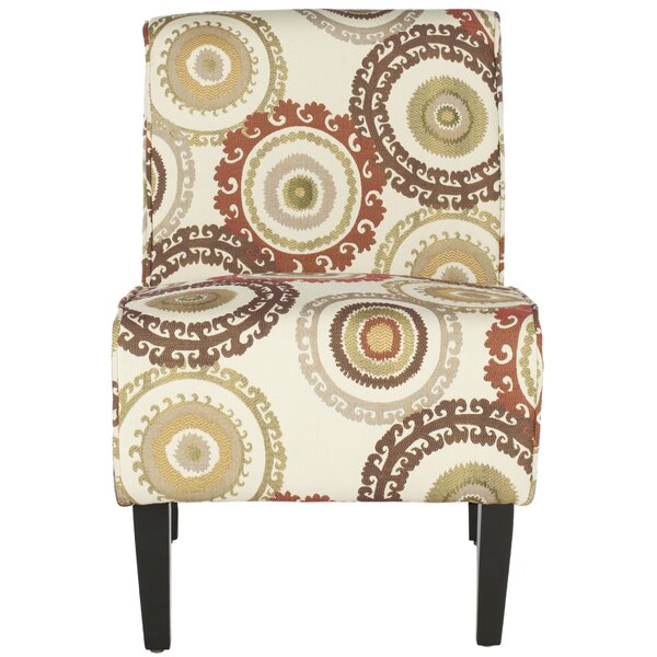 Galaviz Cotton Slipper Chair by Charlton Home