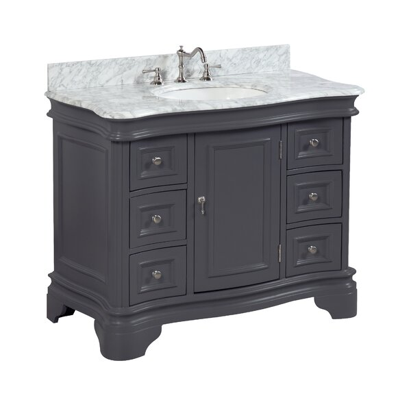 Katherine 42 Single Bathroom Vanity Set by Kitchen Bath Collection