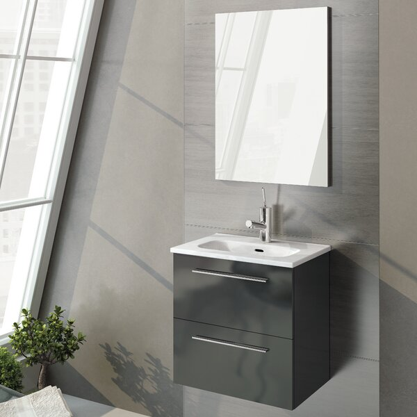 Kegler 20 Single Bathroom Vanity With Mirror Reviews