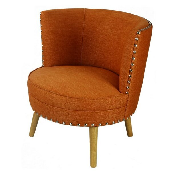 Lightfoot Round Barrel Chair by George Oliver