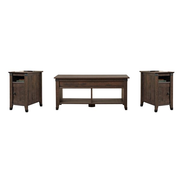 Chantrell 3 Piece Coffee Table Set