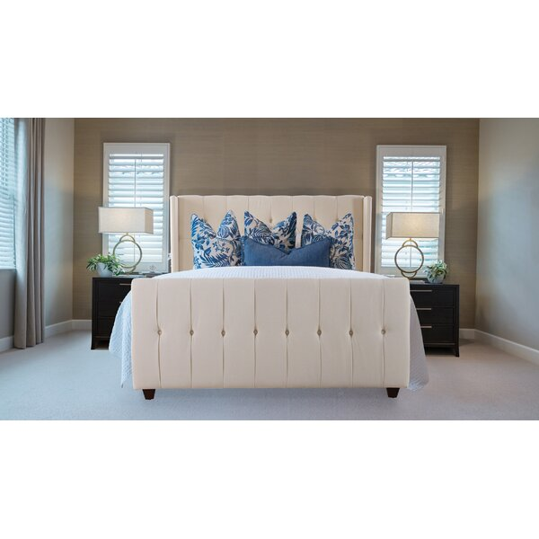 Jacobs Upholstered Standard Bed by Willa Arlo Interiors