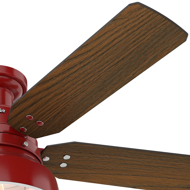 Hunter fan 52 mill valley 5 blade ceiling fan reviews wayfair 52 mill valley 5 blade ceiling fan aloadofball Image collections