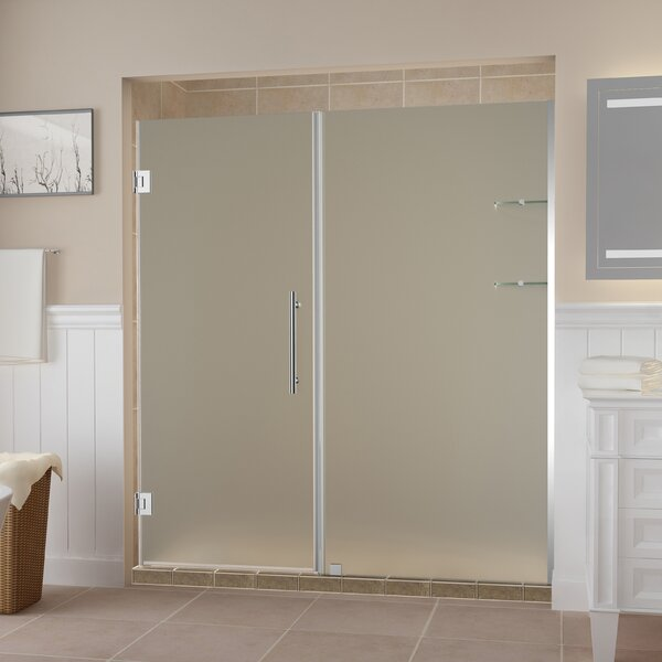 Belmore GS 114 x 72 Hinged Frameless Shower Door by Aston