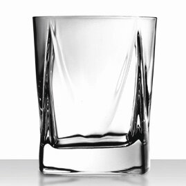Alfieri Double Old Fashioned Glass (Set of 4) by Luigi Bormioli