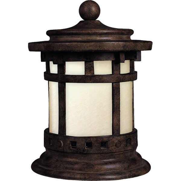Esplanade Outdoor Deck Lantern 1-Light Pier Mount Light by Millwood Pines