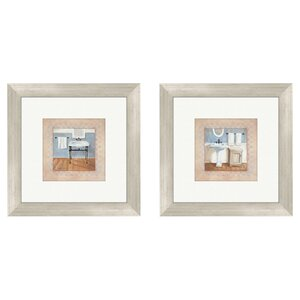 'Country' 2 Piece Framed Painting Print Set by Charlton Home