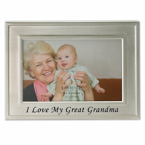 Sentiments I Love My Great Grandma Picture Frame by Lawrence Frames