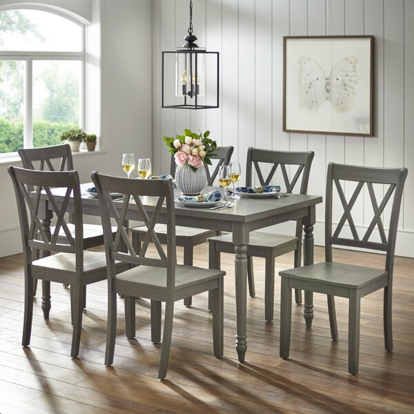 Kristopher 7 Piece Dining Set by Ophelia & Co.