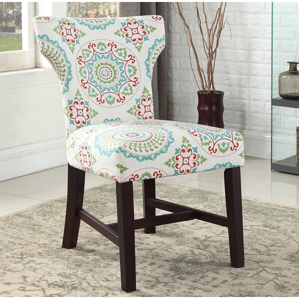 Lostant Floral Living Room Parsons Chair by Winston Porter