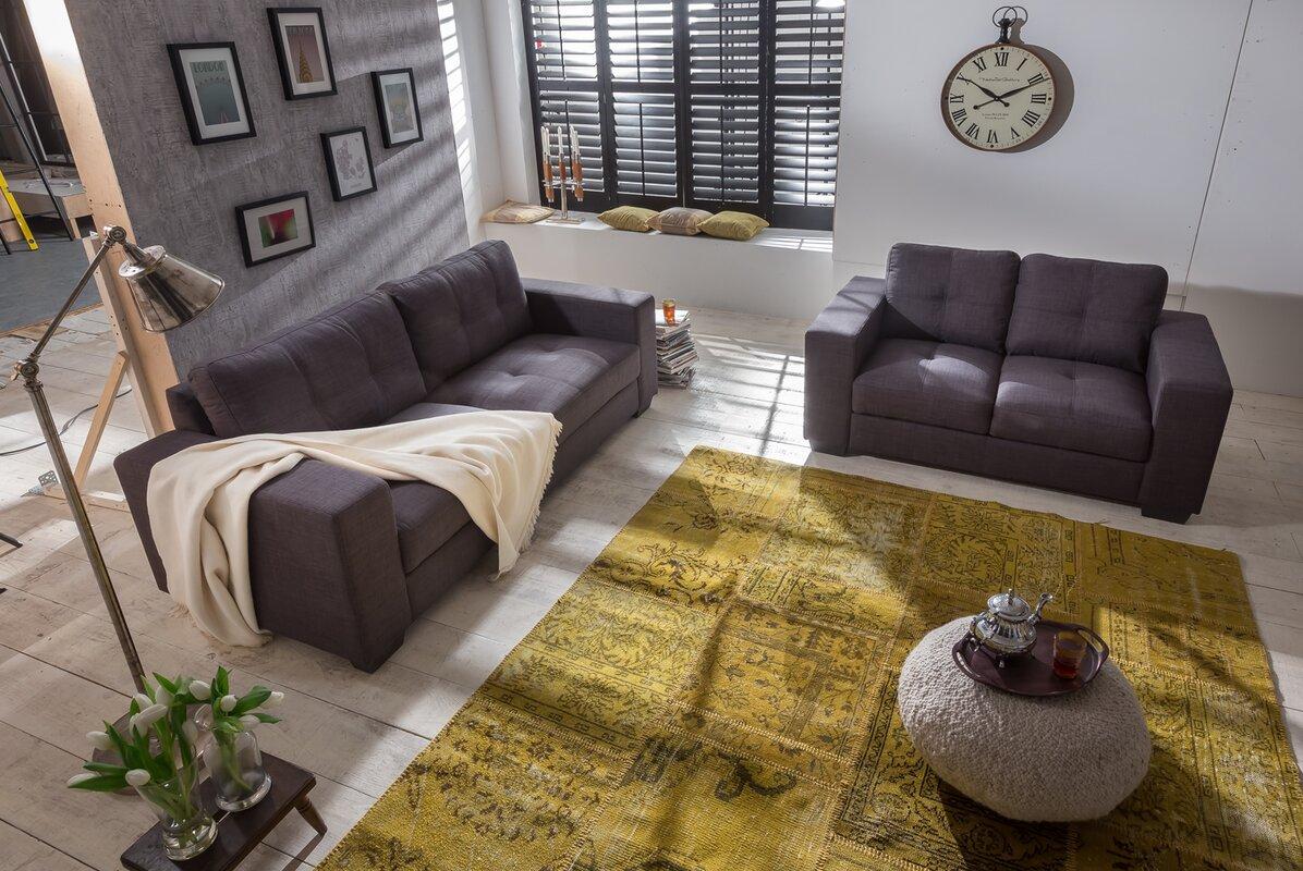sam stil art m bel gmbh 2 tlg couchgarnitur aviano bewertungen. Black Bedroom Furniture Sets. Home Design Ideas