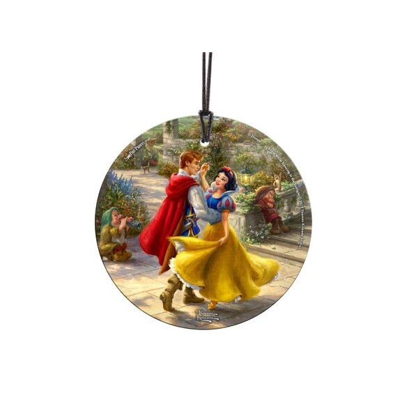 Disney Snow White Suncatcher Hanging Glass Shaped Ornament by Trend Setters