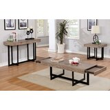 Akali 3 Piece Coffee Table Set by Andrew Home Studio