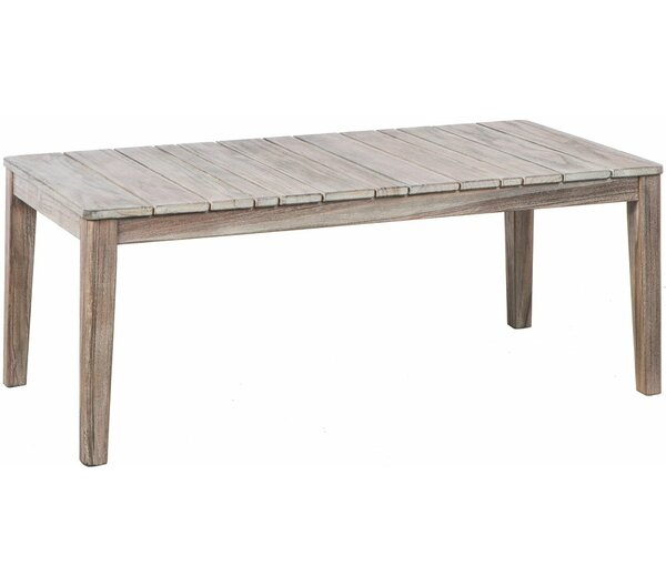 Nishant Solid Wood Coffee Table by Gracie Oaks