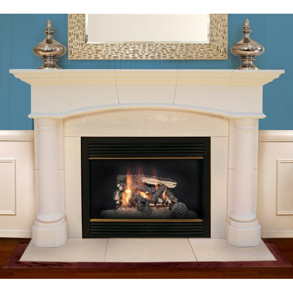 Jefferson Fireplace Mantel Surround by Americast Architectural Stone