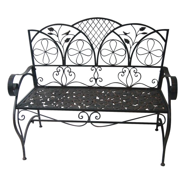 Tilly Metal Garden Bench by Darby Home Co