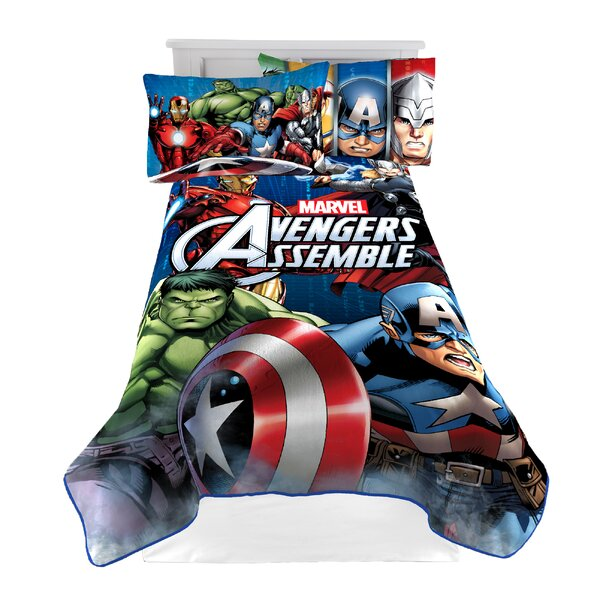 Avengers Classic Halo Blanket by Marvel