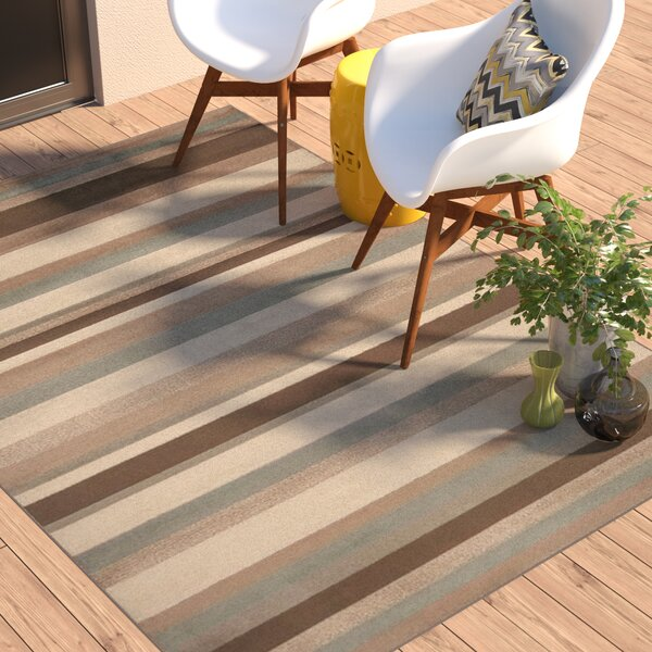 Clearview Stripe Area Rug by Andover Mills