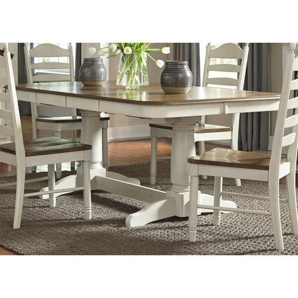 Ruskin 5 Piece Solid Wood Dining Set by Rosecliff Heights
