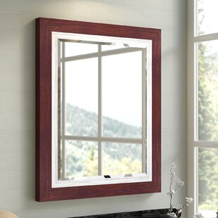 Gracie Oaks Maio Beveled Glass Accent Mirror