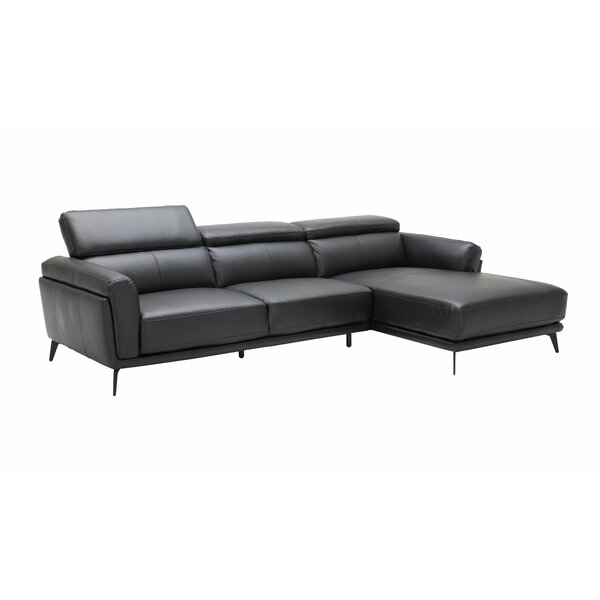 Hazard Contemporary Upholstered Modular Sectional (Set of 2) by Orren Ellis