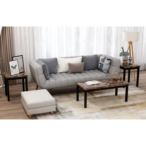 Aelynn 3 Piece Coffee Table Set By Latitude Run