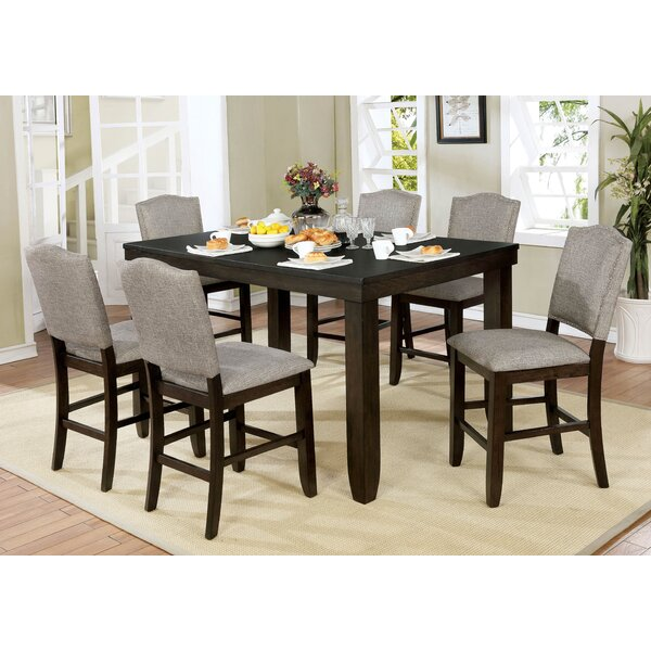 Amazing Rayan 7 Piece Pub Table Set By Charlton Home Great Reviews