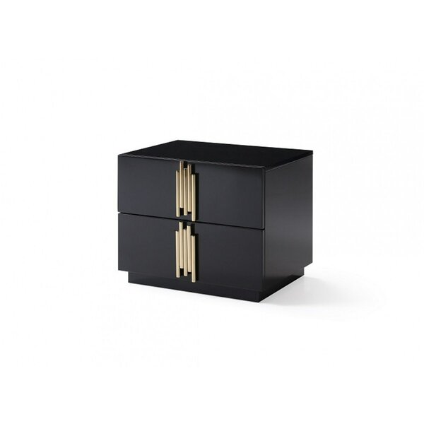 Sandvos 2 Drawer Nightstand by Everly Quinn