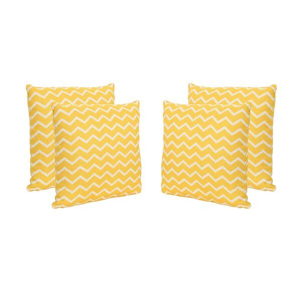 Bolesworth Outdoor Throw Pillow (Set of 4) by Bay Isle Home