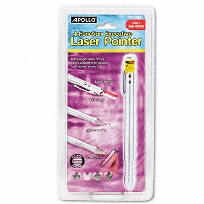 Class 2, 4-Function Executive Laser Pointer by Quartet®