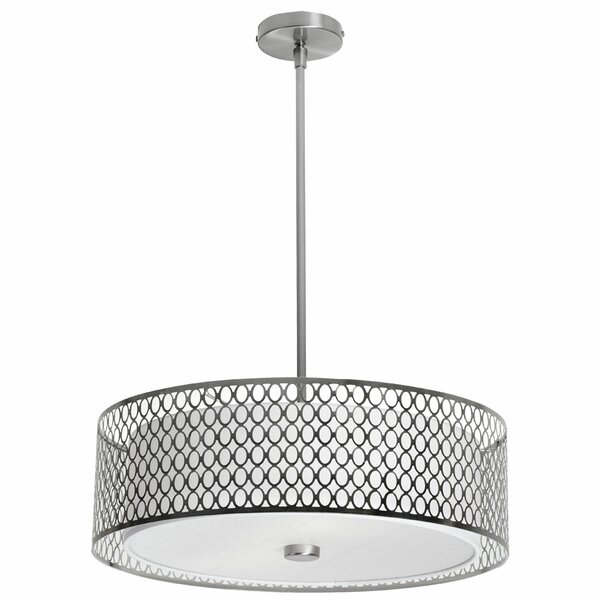 Malisa 3-Light Pendant by Latitude Run