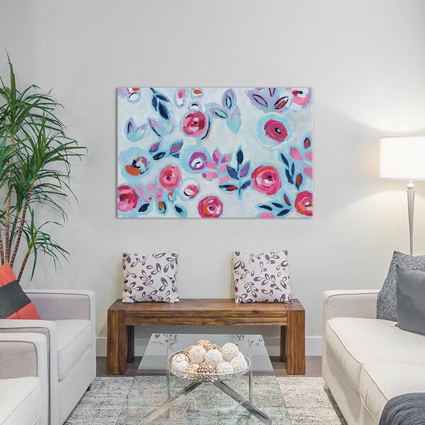 Wall Flower I Canvas Art by East Urban Home